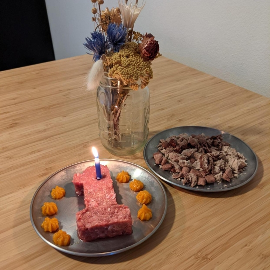 Meat cake and treats!